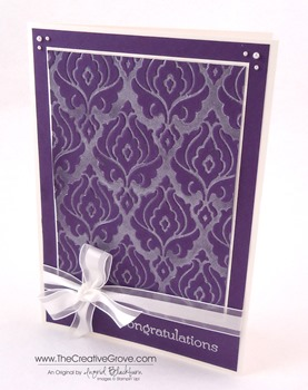 Beautifully Baroque Wedding Card 002 Main L