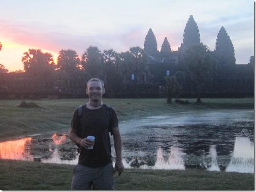 Angkor Wat and Starbucks