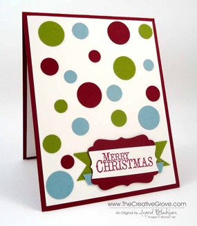 Clean and simple Christmas card 001