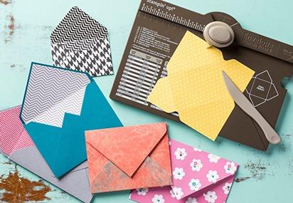 Envelope Punch Board