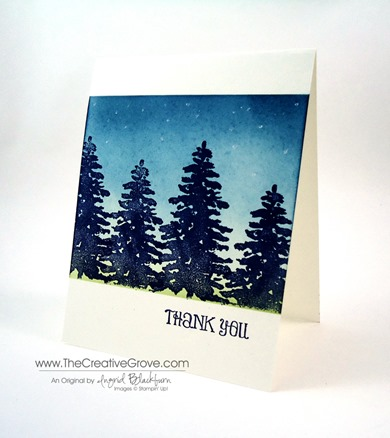 Stampin Up Evergreen Stamp Set (2)