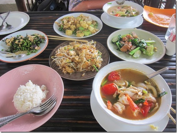 Thai Cooking Class Meal