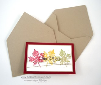 Custom Envelopes with Envelope Punch Board 007