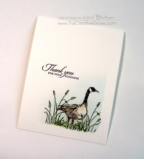 wetlands stamp set stampin up