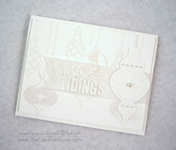 Ornament Keepsakes Stamp Set (3)