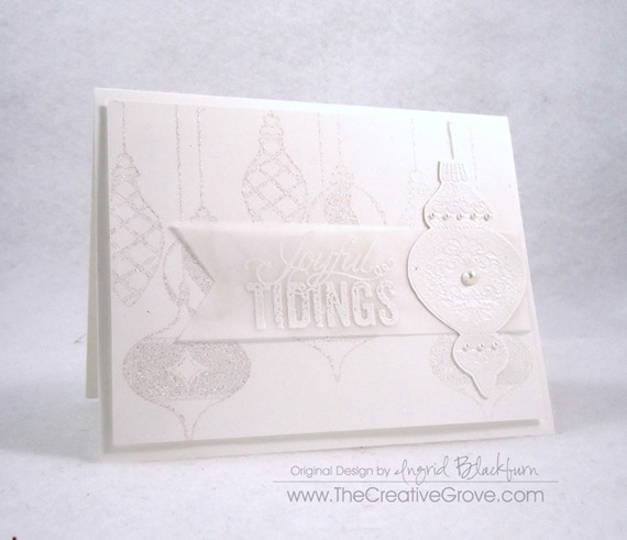 Ornament Keepsakes Stamp Set (4)