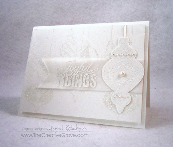 Ornament Keepsakes Stamp Set (6)