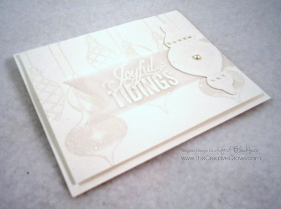 Ornament Keepsakes Stamp Set (7)