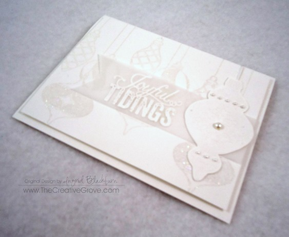 Ornament Keepsakes Stamp Set (9)