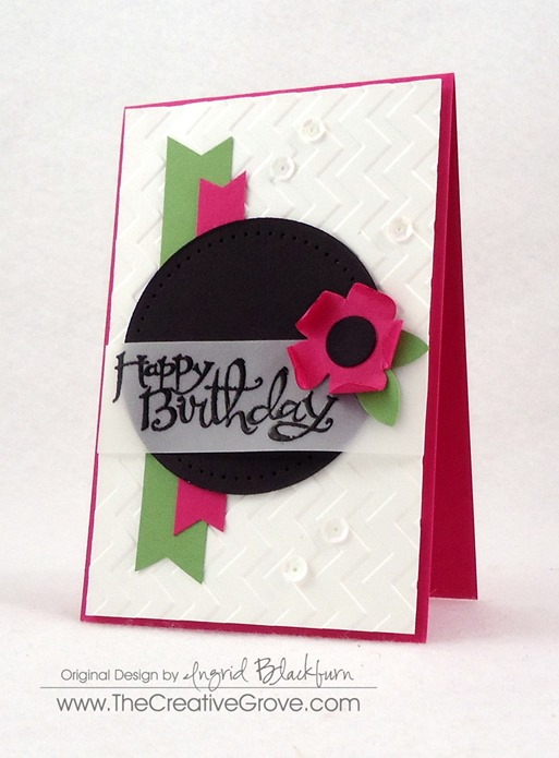 Clean and Simple Flower Birthday Card (3)