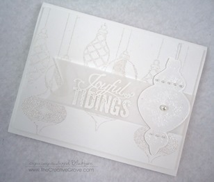 Ornament Keepsakes Stamp Set (10)