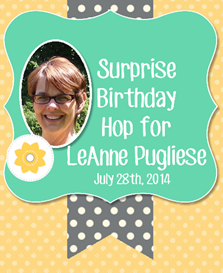 Surprise Hop Graphic for LeAnne