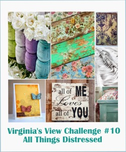 Virginias View challenge distressed