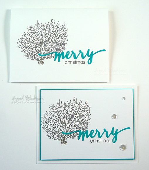 Quick DIY Christmas Cards