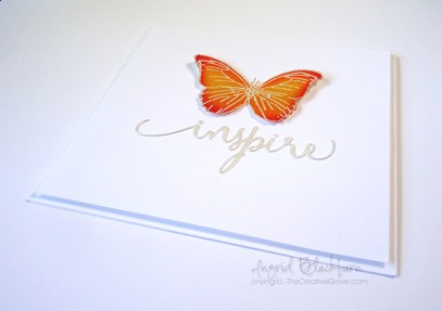 Clean and Simple Butterfly Cards