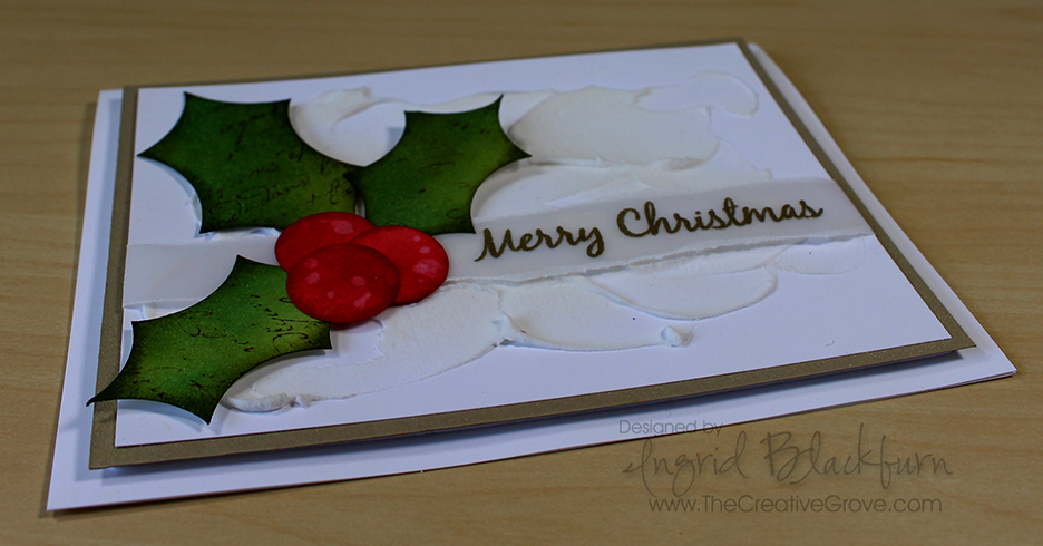 CAS - clean and simple christmas cards