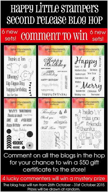 Happy Little Stampers Blog Hop