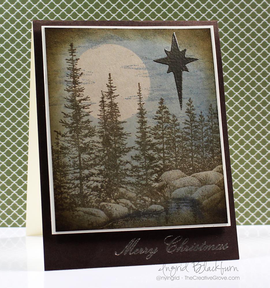 Vintage Christmas Star 001