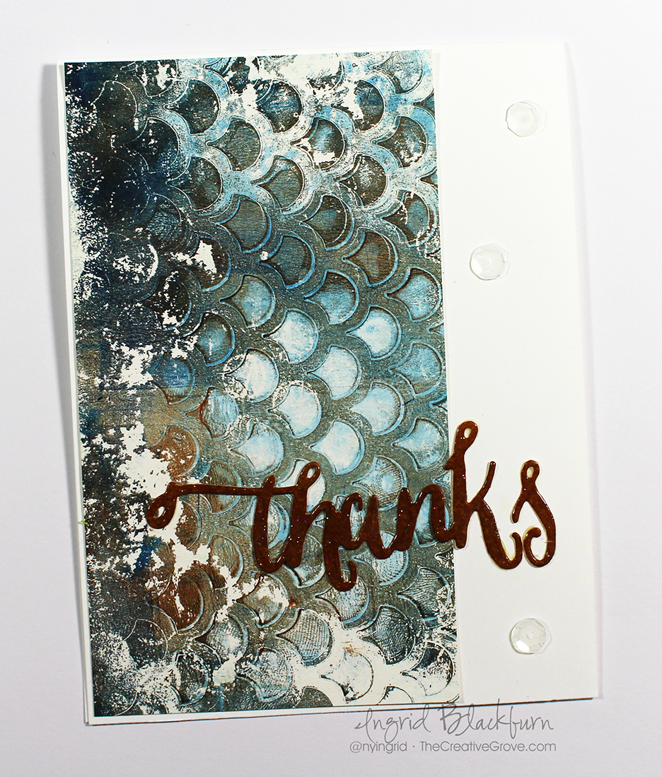 Gelli Plate Stencil Backgrounds 003