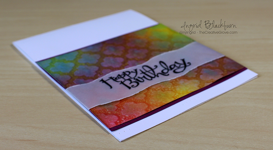 Stenciled Birthday Wishes 002