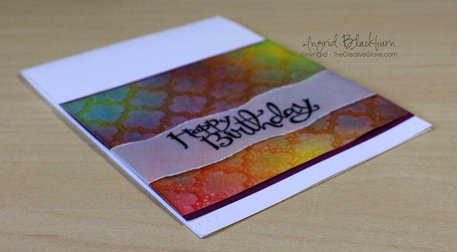 Stenciled Birthday Wishes 002