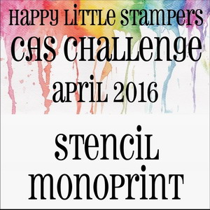 Happy Little Stampers CAS Challenge