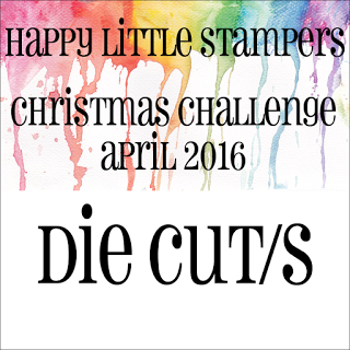 Happy Little Stampers Die Cut Challenge