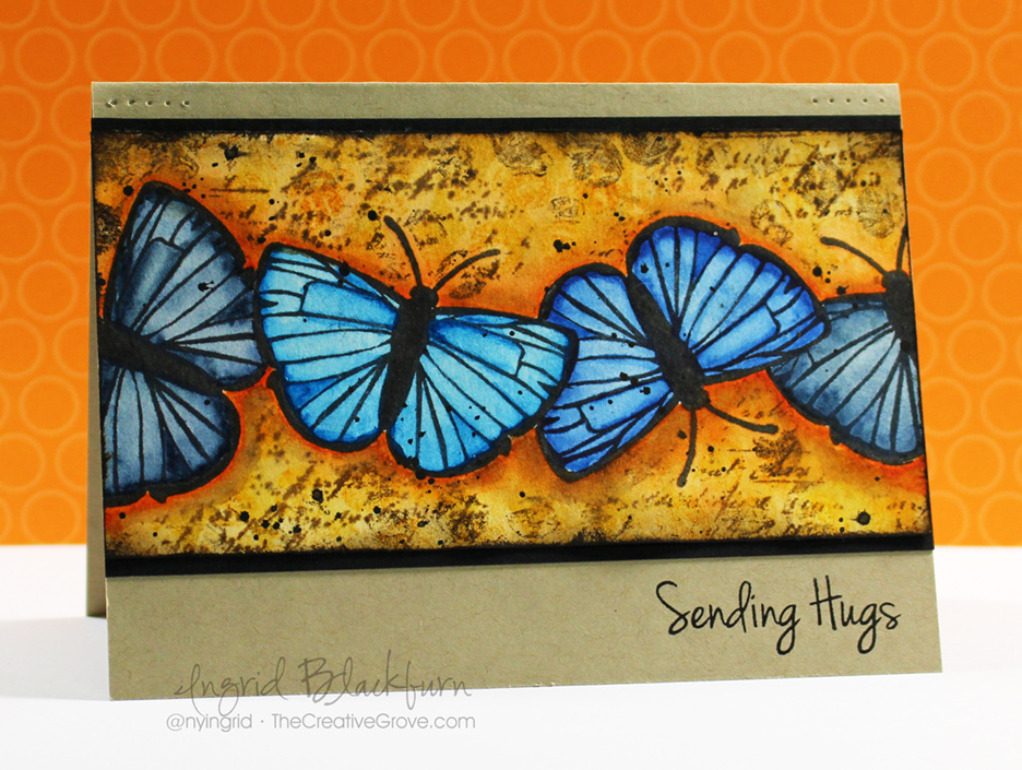 Mixed-Media-Watercolor-Butterflies-001