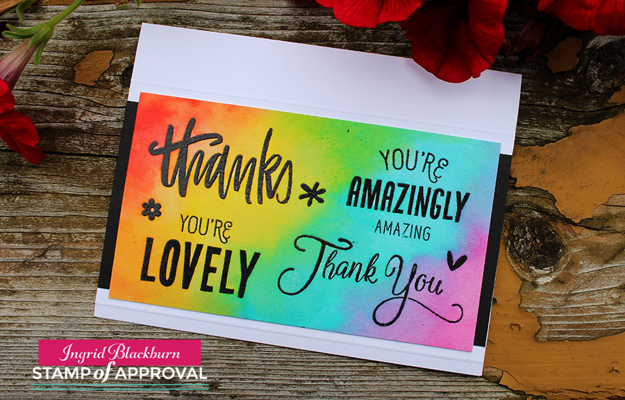 Lovely Notes Stamp of Approval Ingrid Blackburn