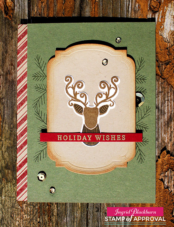 Masculine Christmas Cards - Ingrid Blackburn