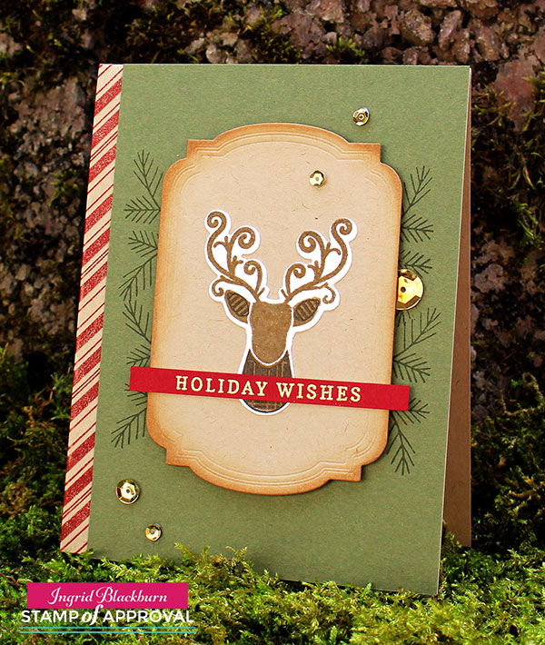 Masculine Christmas Cards - Candy Cane Lane