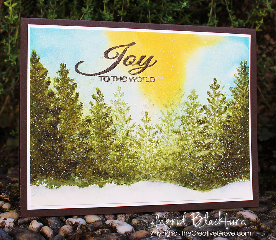 DIY Christmas Cards inspired by Christmas Song