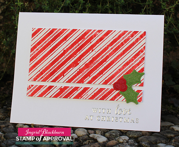 DIY Christmas Card Watercolor Tutorial - Ingrid Blackburn