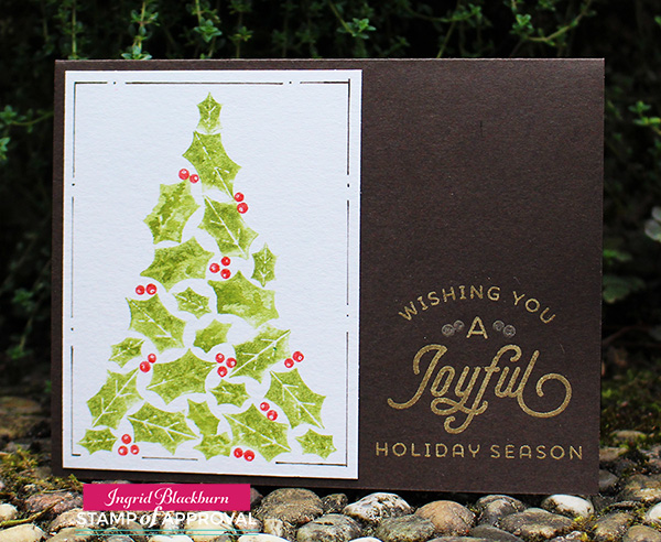 DIY Christmas Cards - Ingrid Blackburn