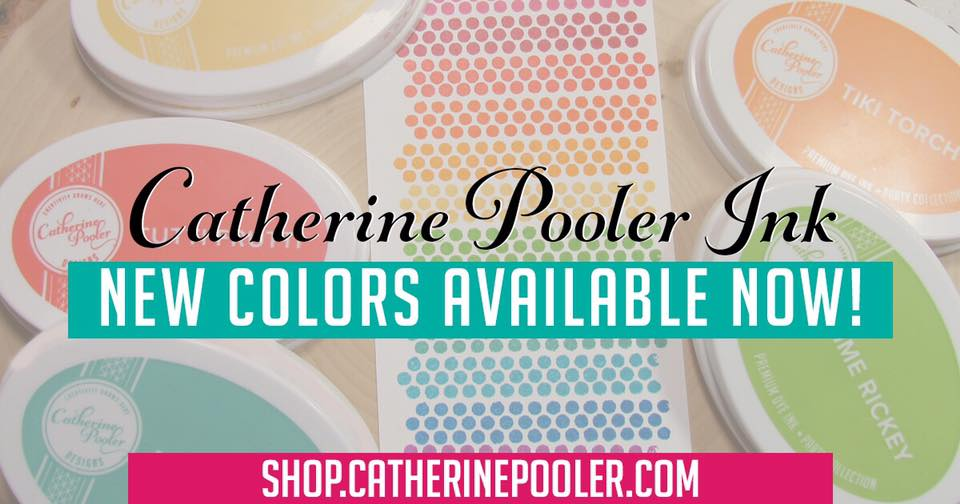 Catherine Pooler Ink Blog Hop - Party Collection