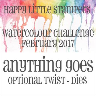 Happy Little Stampers Watercolor Challenge