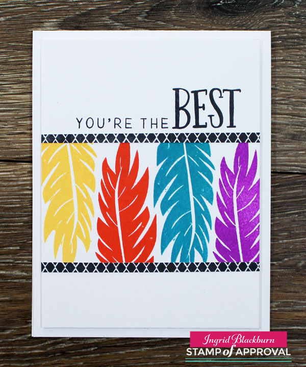 Quick Clean and Simple Cards by Ingrid Blackburn