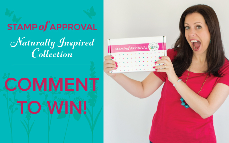 Naturally Inspired Stamp of Approval Collection by Catherine Pooler Designs