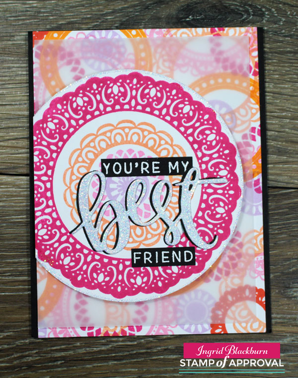 Medallion Mix Up by Catherine Pooler Designs
