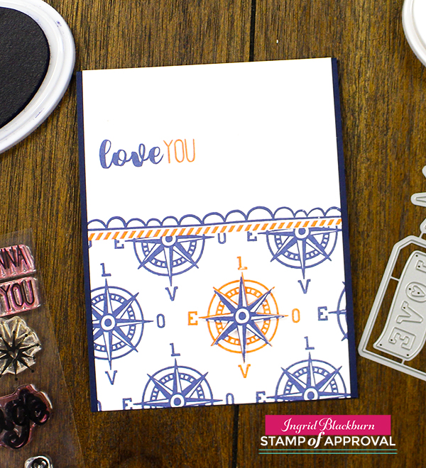 Love is in the Air Stamp of Approval by Catherine Pooler Designs