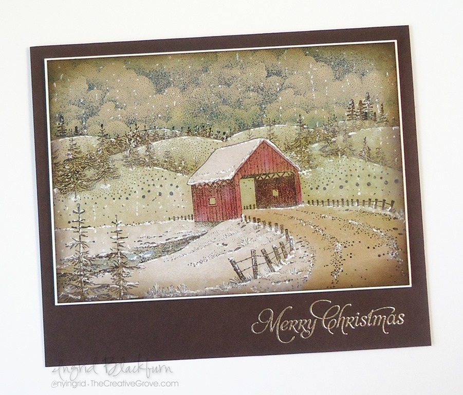 How to Create Vintage Christmas Cards