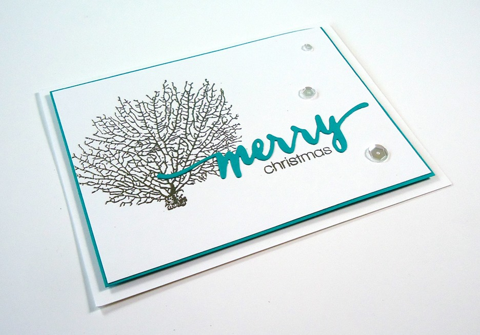 Clean and Simple Non-Traditional Christmas Cards