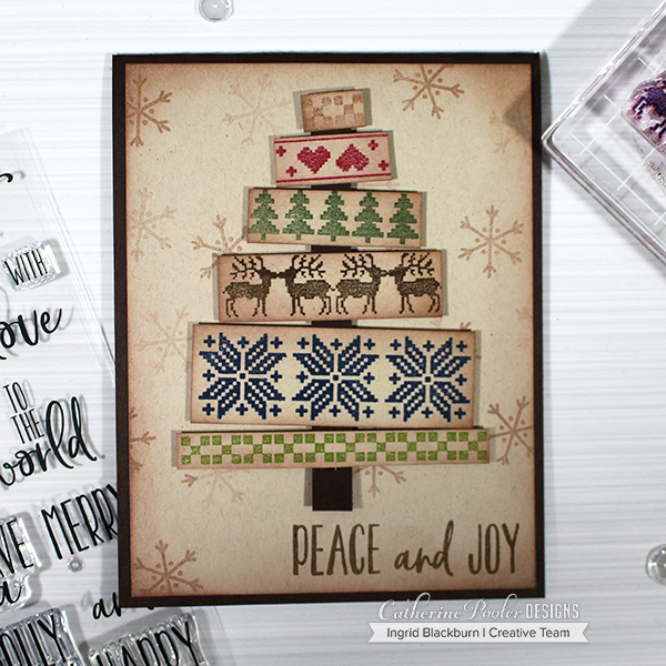 diy easy rustic christmas cards soa box - Rustic Christmas Cards